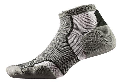 Thorlos Experia Micro Mini-Crew Socks - Dusty Olive M