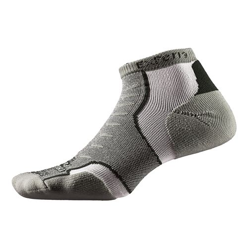 Thorlo Experia Micro Mini-Crew Socks - Dusty Olive L
