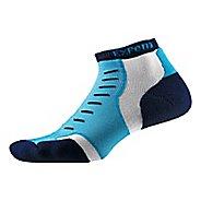 Thorlos Experia Thin Padded Low Cut Socks - Navy Vibe S
