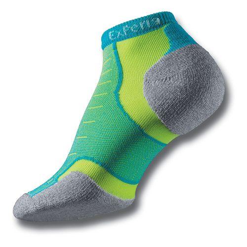 Thorlos Experia Thin Padded Low Cut Socks - Blue Shark S