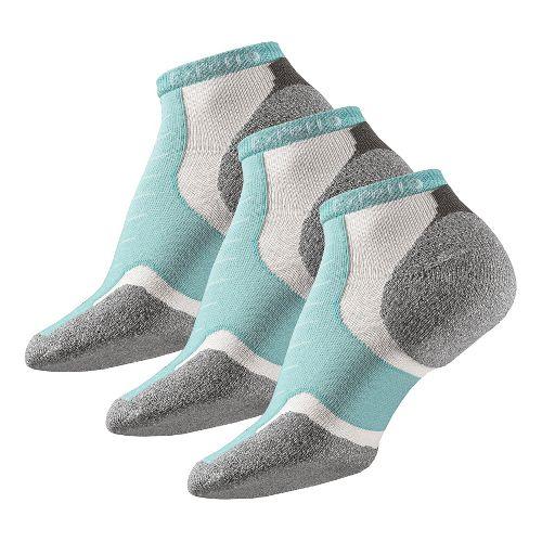 Thorlo Experia Micro Mini-Crew 3 pack Socks - Spearmint M