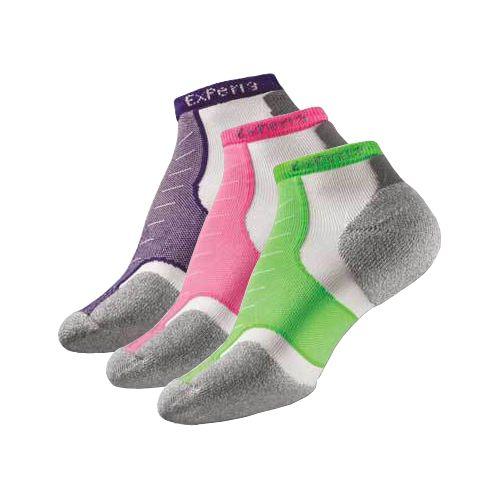 Thorlo Experia Micro Mini-Crew 3 pack Socks - Assorted M