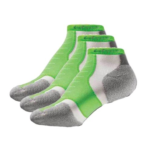 Thorlo Experia Micro Mini-Crew 3 pack Socks - Electric Green M