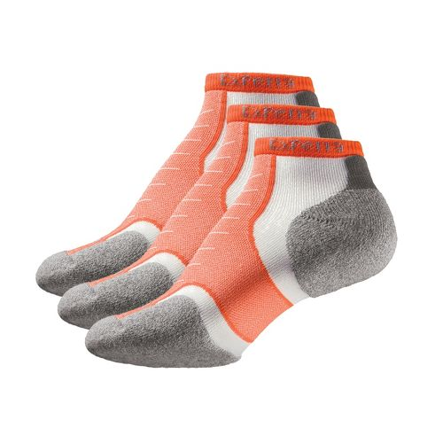 Thorlo Experia Micro Mini-Crew 3 pack Socks - Electric Orange S