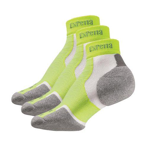 Thorlo Experia Mini Ankle 3 pack Socks - Blazing Yellow M