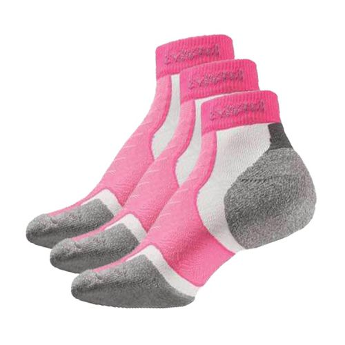 Thorlo Experia Mini Ankle 3 pack Socks - Electric Pink S