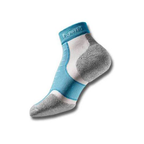 Thorlo Experia Mini Ankle 3 pack Socks - Turquoise M