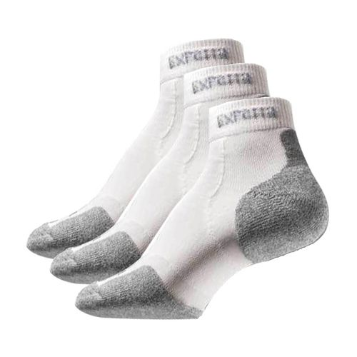 Thorlo Experia Mini Ankle 3 pack Socks - White L
