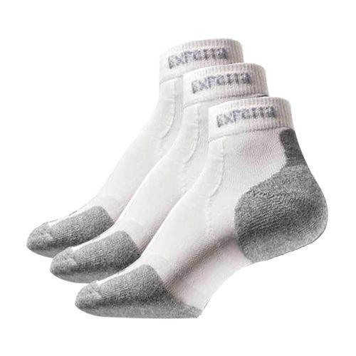 Thorlo Experia Mini Ankle 3 pack Socks - White M