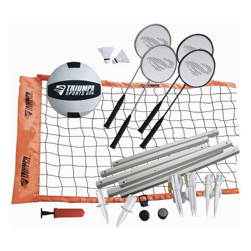 Triumph Sports�Advanced Volleyball/Badminton Combo Set