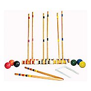 Triumph Sports 6 Player Croquet Set Fitness Equipment