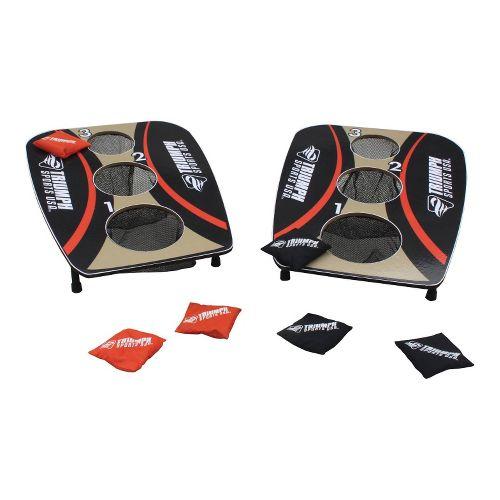 Triumph Sports 3-Hole Folded Bag Toss Fitness Equipment - Black/Brown