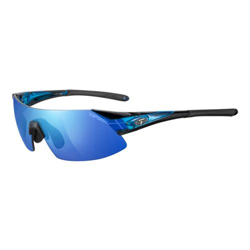 Tifosi Podium XC Interchangeable Clarion Lens Sunglasses - Crystal Blue