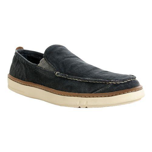Mens Timberland EK Hookset Handcrafted slip on Casual Shoe - Washed Black Canvas 15