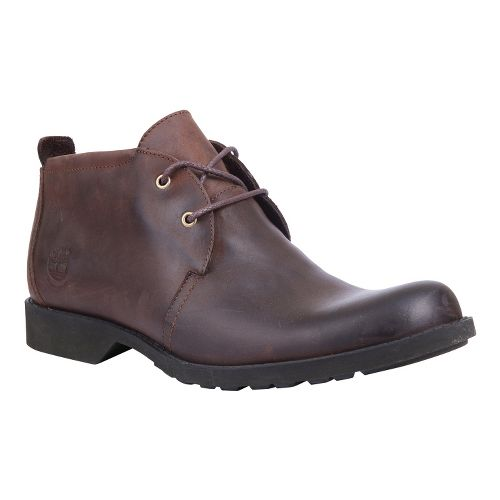 Mens Timberland EK City Lite Waterproof Chukka Casual Shoe - Brown 12