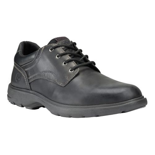 Mens Timberland EK Richmont Plain Toe Oxford Casual Shoe - Black Smooth 10.5
