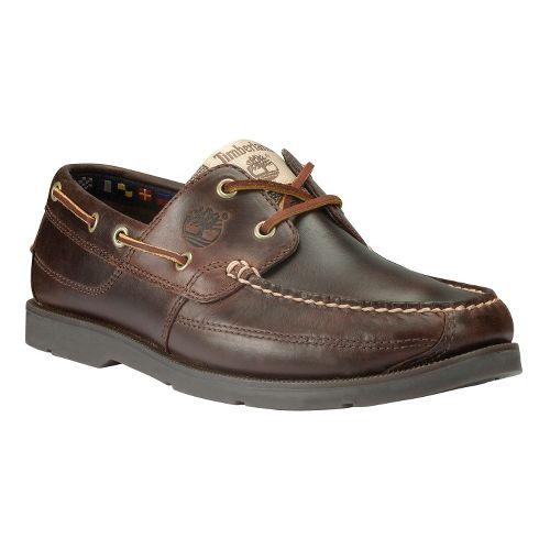 Mens Timberland EK Heritage Kia Wah Bay Handsewn Casual Shoe - Brown Pull-Up 9