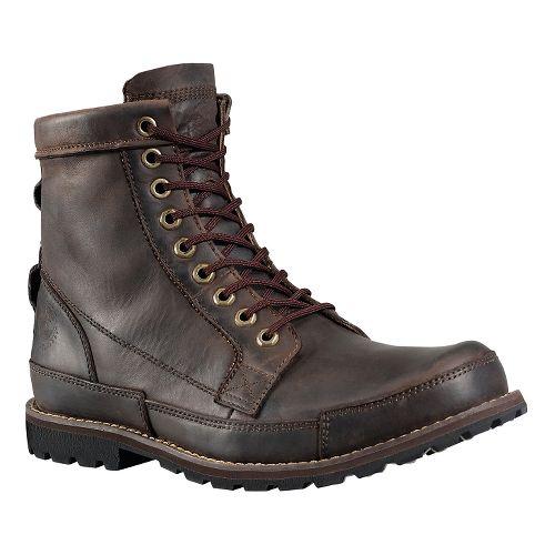 Mens Timberland EK Rugged 6 Boot Casual Shoe - Dark Brown 9