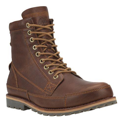 Mens Timberland EK Rugged 6 Boot Casual Shoe - Tobacco Full Grain 9