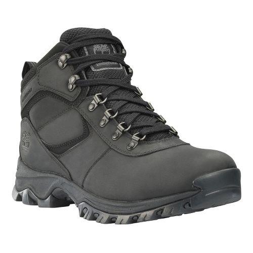 Mens Timberland EK Mount Maddsen Mid Leather Hiking Shoe - Black 9.5