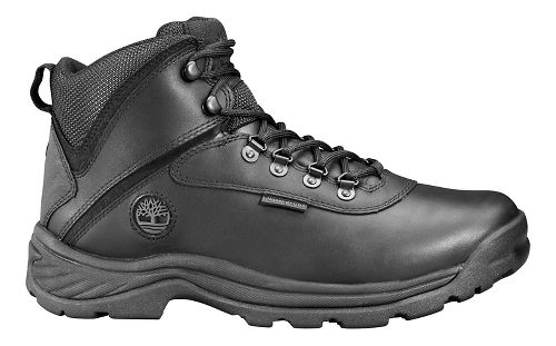 Mens Timberland White Ledge Mid Waterproof Hiking Shoe - Black 7