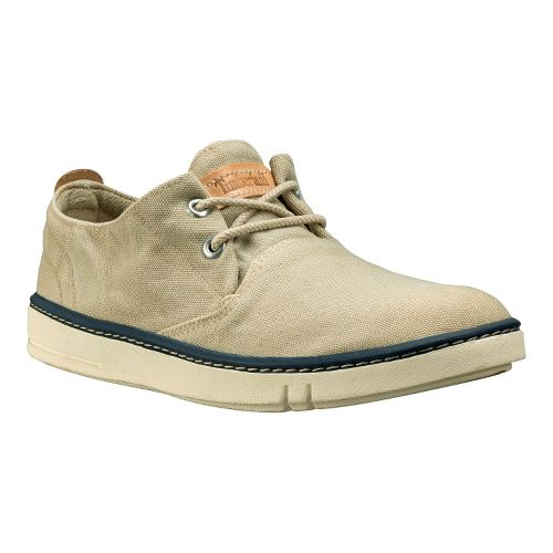Womens Timberland EK Hookset Handcrafted Oxford Casual Shoe - Greige Washed 11