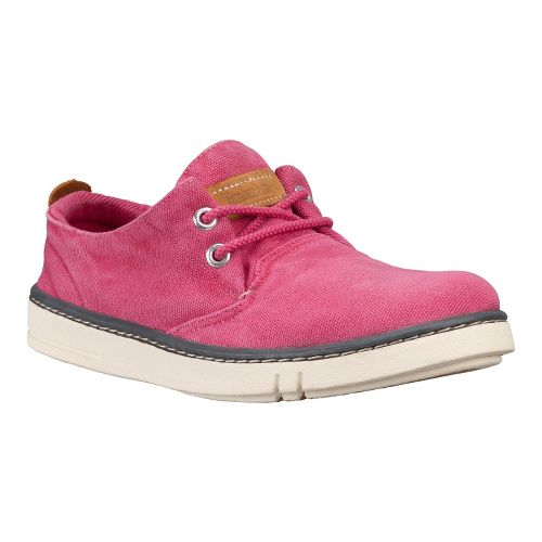 Womens Timberland EK Hookset Handcrafted Oxford Casual Shoe - Hot Pink 11