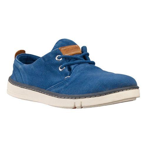 Womens Timberland EK Hookset Handcrafted Oxford Casual Shoe - Royal Blue 8