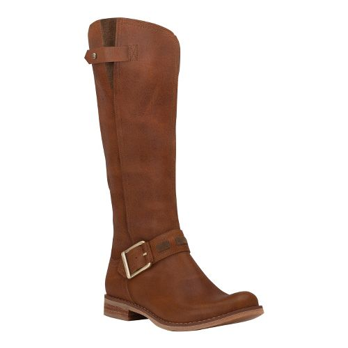 Womens Timberland EK Savin Hill Tall Boot Casual Shoe - Tobacco Forty Leather 8