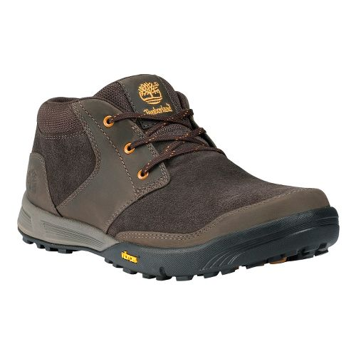 Mens Timberland EK Pembroke Cabbie Hiking Shoe - Dark Brown 7.5