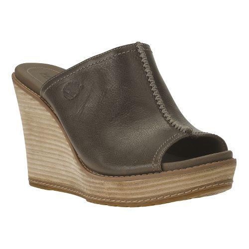 Womens Timberland EK Danforth Mule Casual Shoe - Dark Olive 9