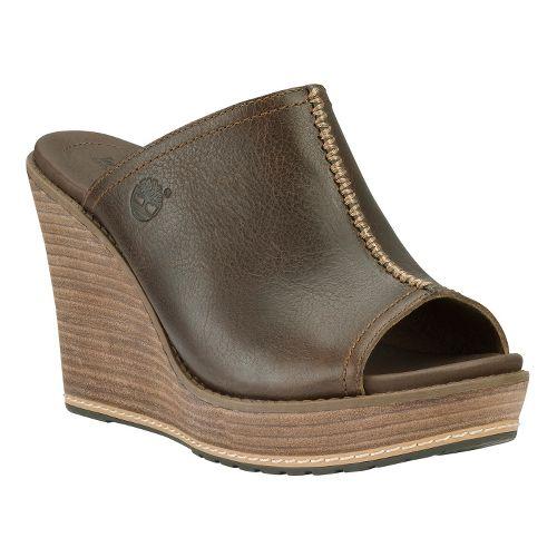 Womens Timberland EK Danforth Mule Casual Shoe - Brown 7.5