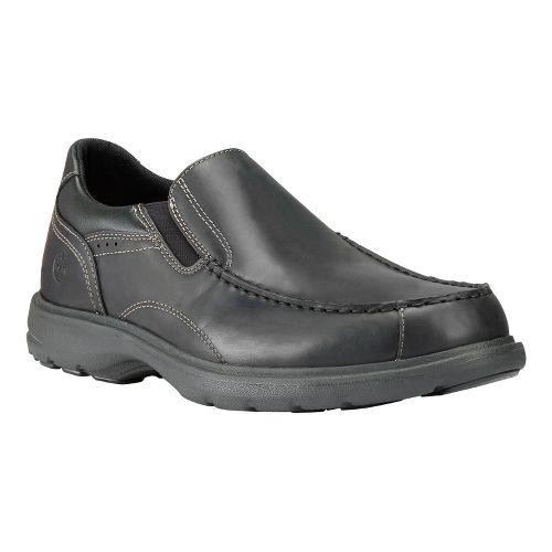 Mens Timberland EK Richmont Slip-On Casual Shoe - Black Smooth 11