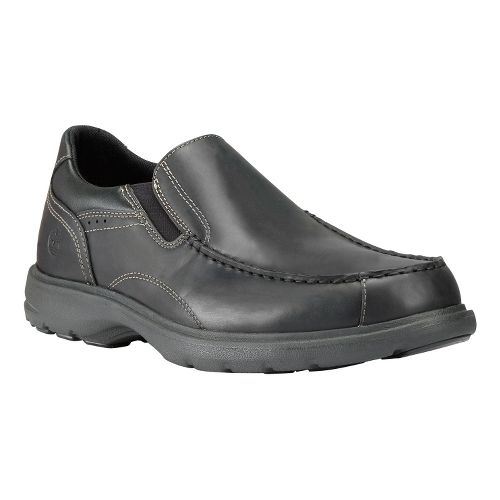 Mens Timberland EK Richmont Slip-On Casual Shoe - Black Smooth 14