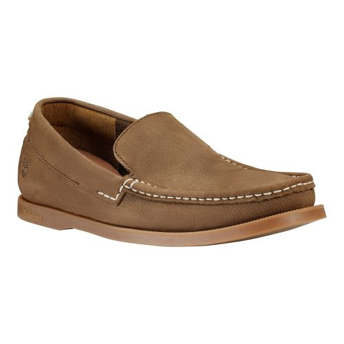 Mens Timberland EK Heritage Boat Venetian Casual Shoe - Dark Brown 14