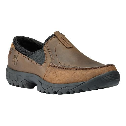 Mens Timberland EK Crawley Slip On Casual Shoe - Dark Brown 8.5