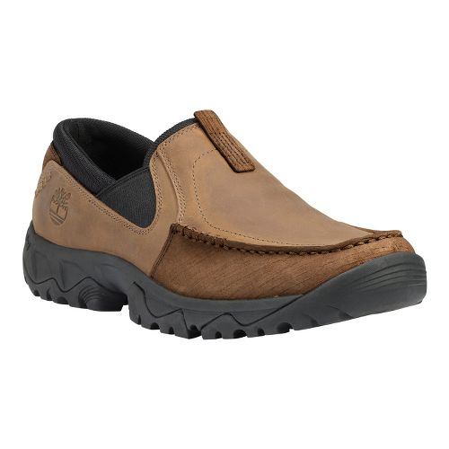 Mens Timberland EK Crawley Slip On Casual Shoe - Light Brown 14