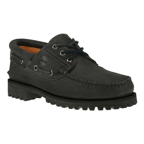 Mens Timberland Icon 3-Eye Classic Lug Casual Shoe - Black Nubuck 7
