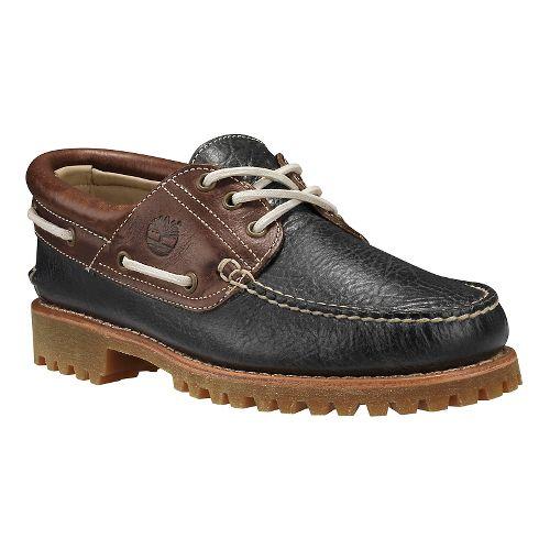 Mens Timberland Icon 3-Eye Classic Lug Casual Shoe - Dark Grey 11