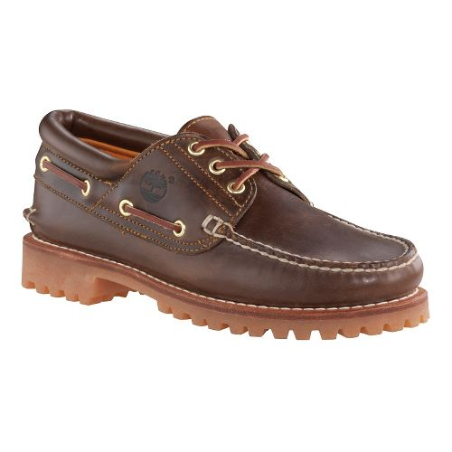 Mens Timberland Icon 3-Eye Classic Lug Casual Shoe - Dark Brown Smooth 7