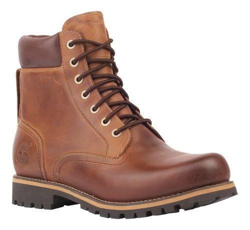 Mens Timberland EK Rugged 6 Plain Toe Boot Waterproof Casual Shoe - Copper Roughcut 9.5