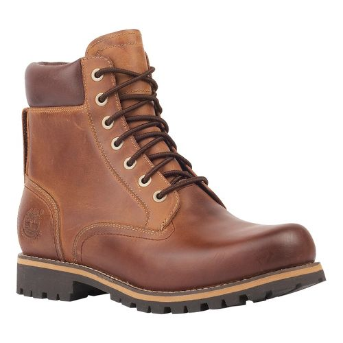 Mens Timberland EK Rugged 6 Plain Toe Boot Waterproof Casual Shoe - Copper Roughcut 12