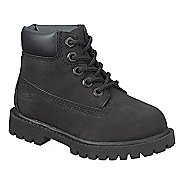 Kids Timberland 6 Premium Waterproof Boot Casual Shoe - Black 8.5C