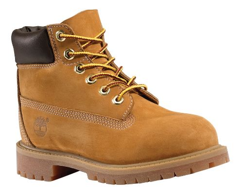 Kids Timberland 6 Premium Waterproof Boot Casual Shoe - Wheat 10C