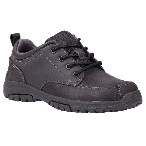 Kids Timberland Discovery Pass Oxford Youth Casual Shoe - Black 12.5