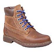 "Kids Timberland Earthkeepers Amesbury 6"" Plain Toe Junior Casual Shoe"