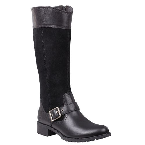 Womens Timberland EK Bethel Tall Boot Casual Shoe - Black 9