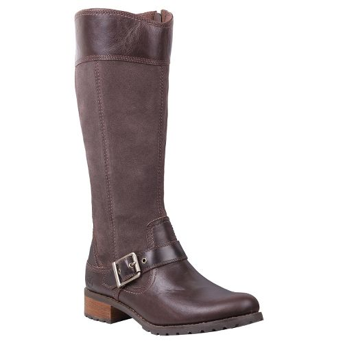 Womens Timberland EK Bethel Tall Boot Casual Shoe - Brown 5.5