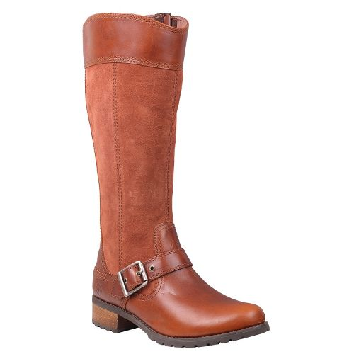 Womens Timberland EK Bethel Tall Boot Casual Shoe - Glazed Ginger 11