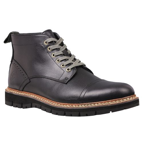Mens Timberland EK Britton Hill Chukka Casual Shoe - Black Smooth 10